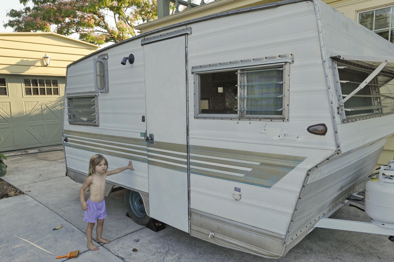 Aristrocrat trailer restoration